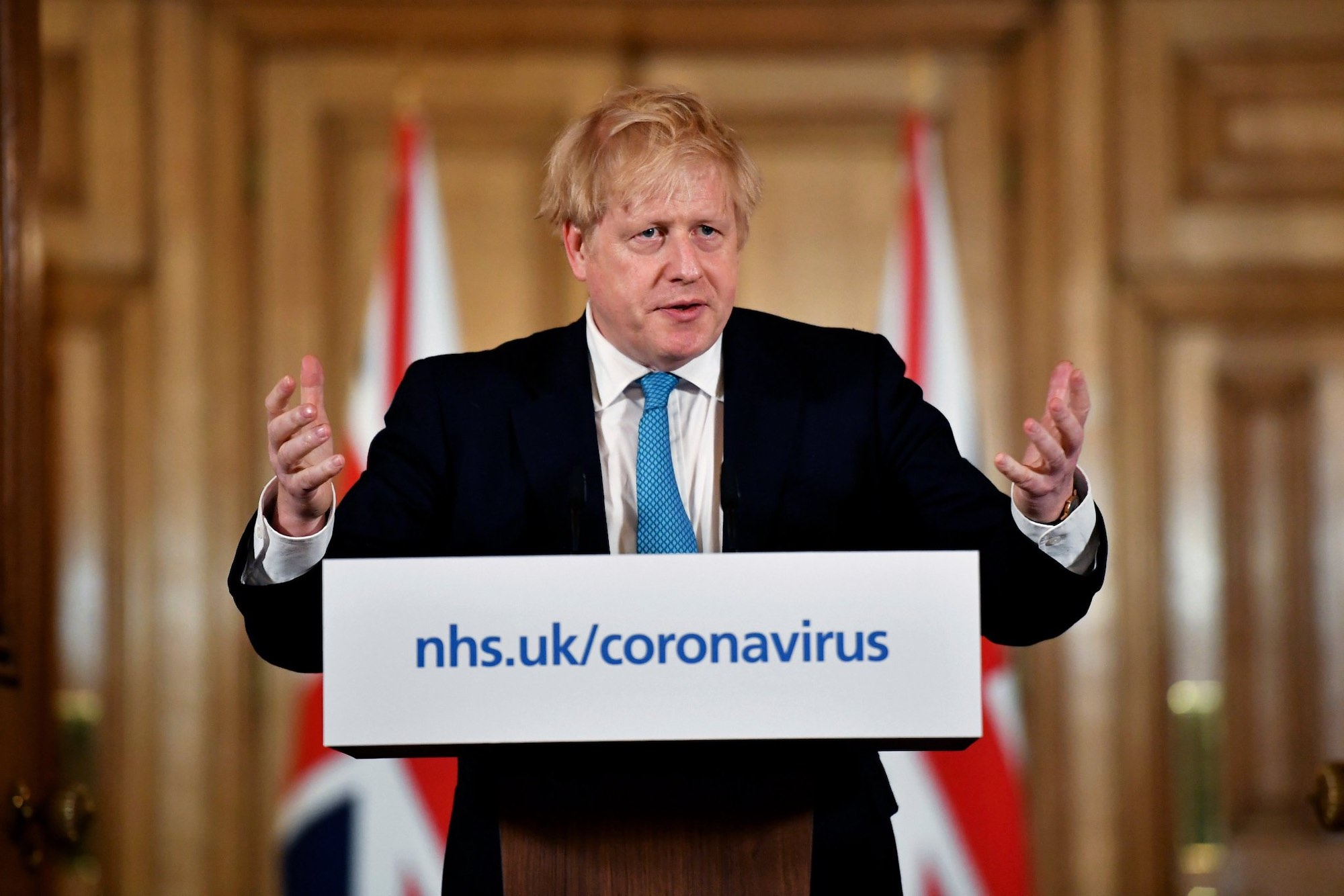 Prime Minister Boris Jonson Condition Improves