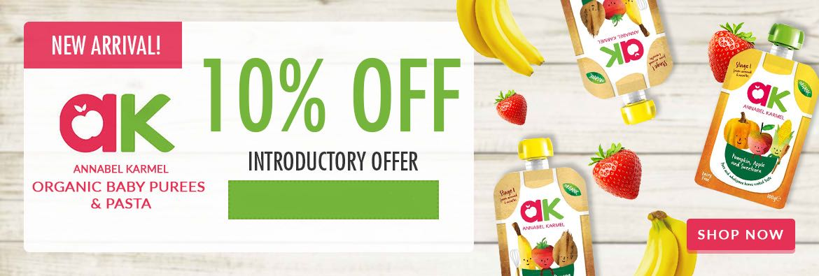 New Annabel Karmel Introductory Offer at Vitamin Planet