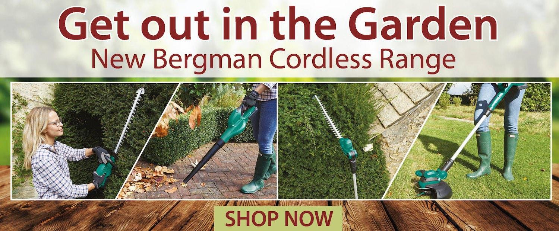 Shop The New Bergman Cordless Range at Expert Verdict