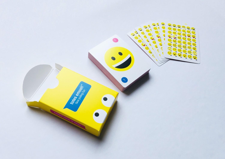 Totes Emosh Card Game Team