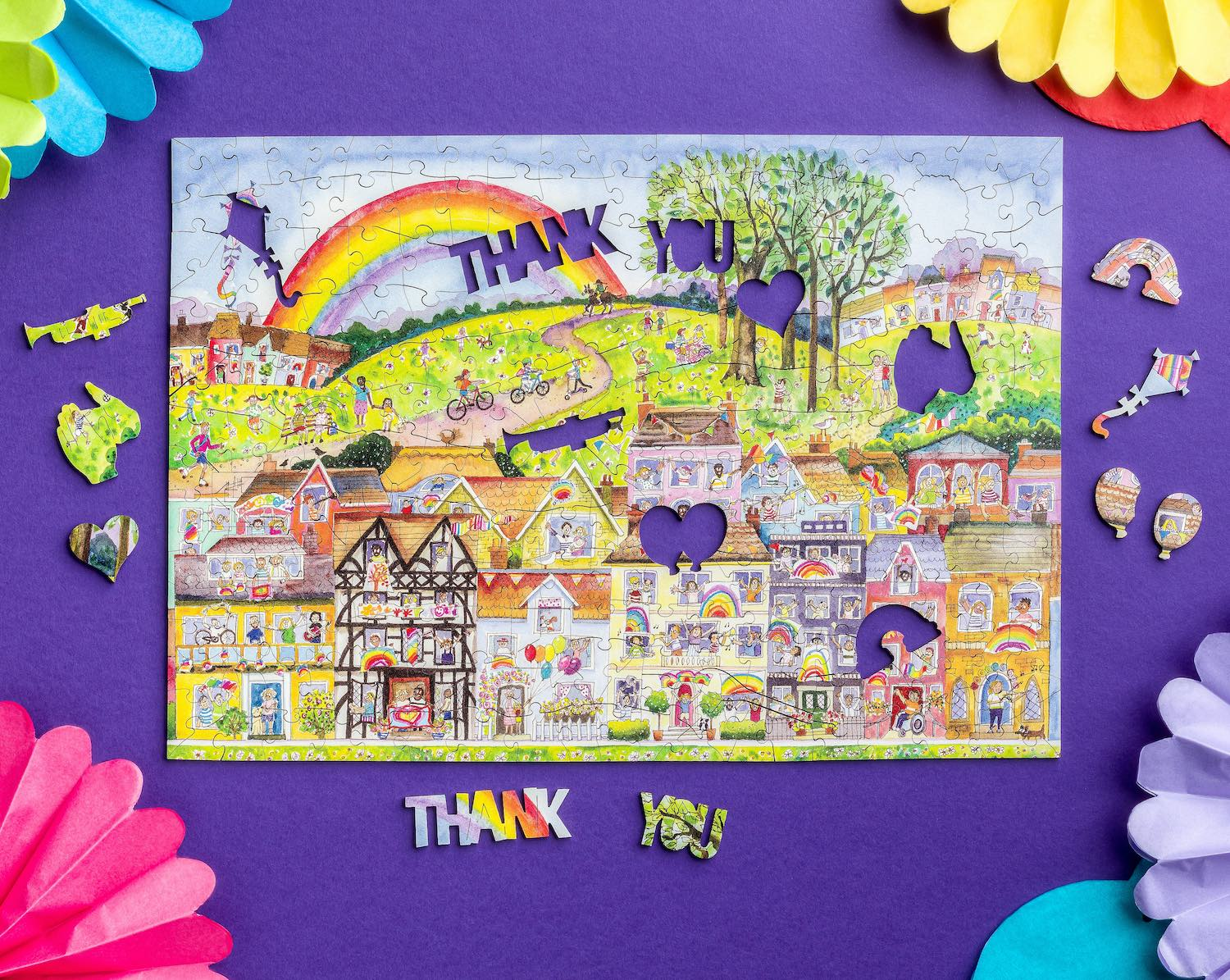 Support our Keyworkers with an Exclusive Wooden Jigsaw from Wentworth Puzzles
