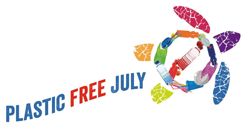 plastic free july banner