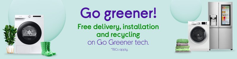 Currys PC World Go Greener Products