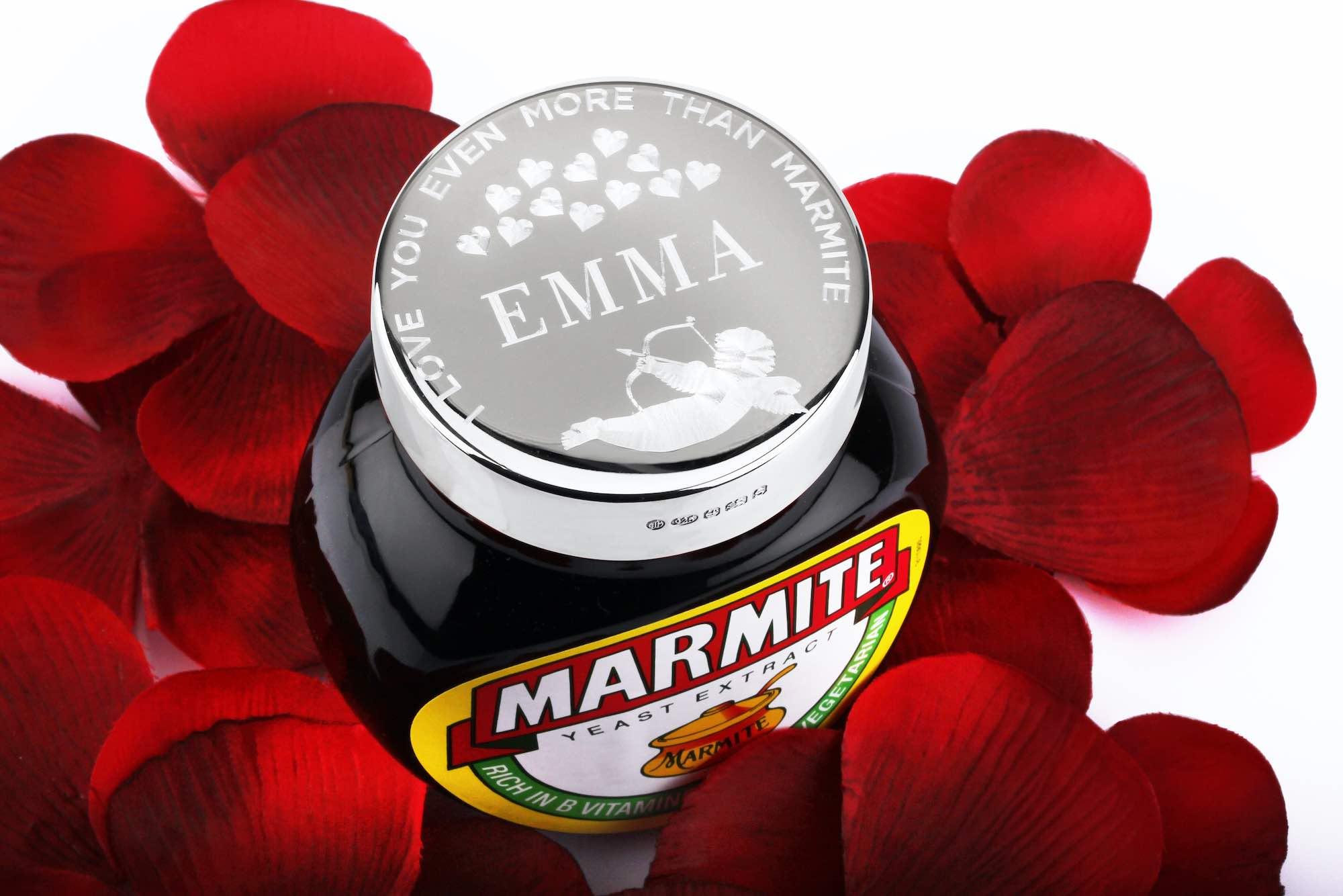 Valentines Edition Marmite Jar Launched
