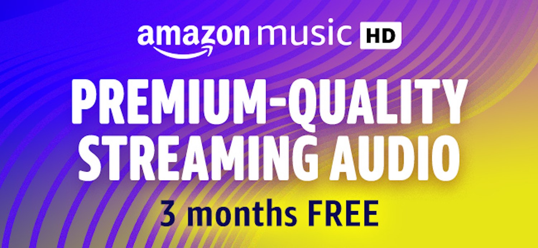 Amazon Music HD Promotion - 90 days free